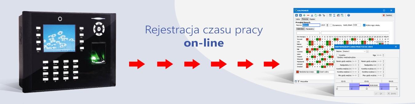rejestracja czasu pracy on-line